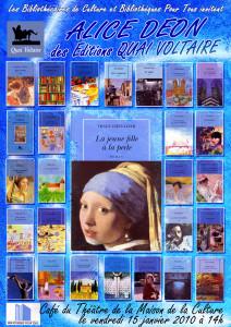 Affiche Alice Déon 1