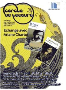Affiche Ariane Charton Debussy769