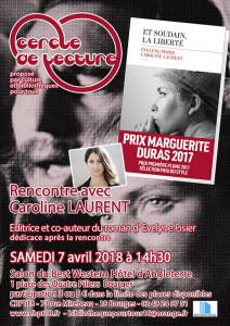 Affiche Carine Laurent & Evelyne Pisier