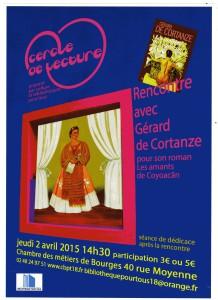 Affiche G de Cortanze856