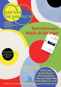 Affiche Maylis de kerangal