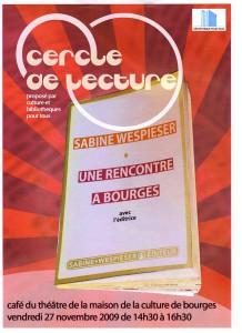 Affiche Sabine Wespieser 529