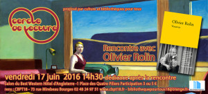 Olivier Rolin Carton invitation