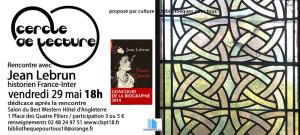 Plaquette Jean Lebrun Notre Chanel