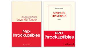 Prix Inrockuptibles Livres