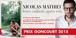 imagesPrix Goncourt Nicolas Mathieu